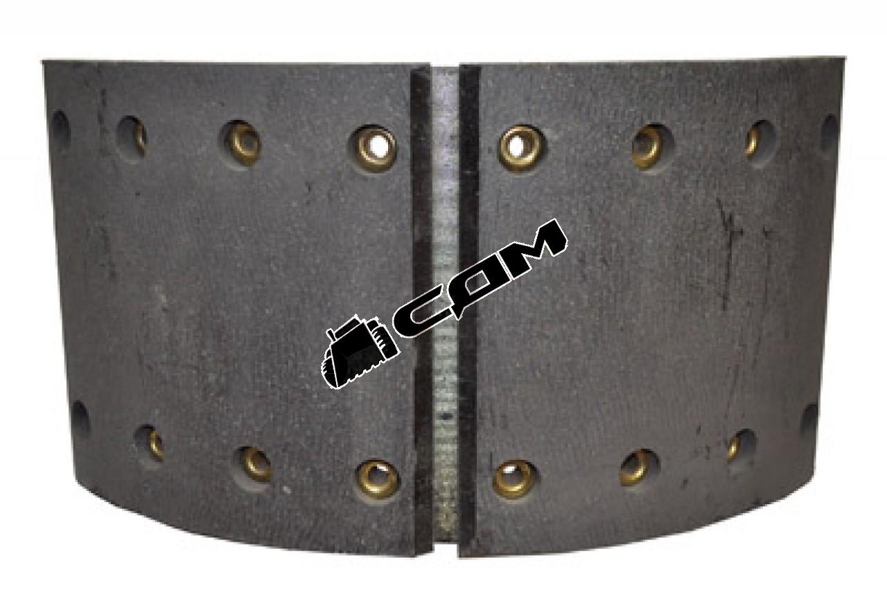 Колодка тормозная задняя с накладками HOWO/Shaanxi  199000340061